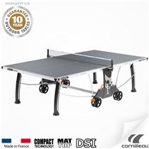 Stůl na stolní tenis CORNILLEAU 400 M Outdoor Šedý