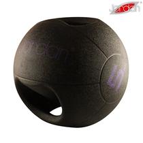 Medicinball JORDAN s dvojitým úchopem 5 kg - fialový