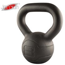 Pogumovaný kettlebell JORDAN Fitness Cast Iron 8 kg