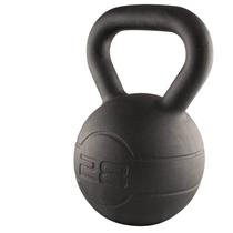 Pogumovaný kettlebell JORDAN Fitness Cast Iron 28 kg