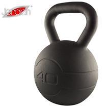 Pogumovaný kettlebell JORDAN Fitness Cast Iron 40 kg