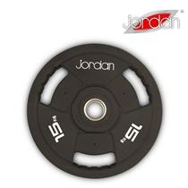 Olympijský kotouč JORDAN gumový 15 kg