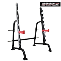 Silový stojan na dřepy BARBARIAN Squat rack heavyweight HD-SR-539