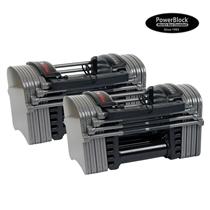 Nakládací činka PowerBlock Sport 9.0 Stage I - 1 kg – 22,5 kg, pár
