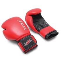 JORDAN FITNESS boxovací rukavice tréninkové - kožené (10) červené