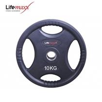 Lifemaxx kotouč pogumovaný RUBBER PREMIUM OL 10 kg