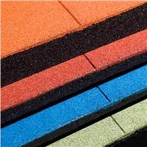 Gumová podlaha Puzzle 1x1m Full, 15mm