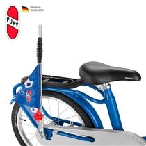Bezpečnostní vlajka na koloběžky/ kola PUKY modrá