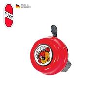Zvoneček pro odrážedla a kola Puky, červená