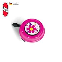 Zvoneček pro odrážedla a kola Puky, růžová