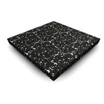 Sportovní podlaha SPECKLED 1000x1000x20mm, šedá