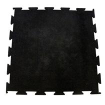 Gumová podlaha Puzzle 1x1m modrá 20% EPDM, 10mm