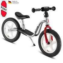 Odrážedlo PUKY Learner Bike Standard LR 1L stříbrno/červená