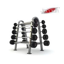 JORDAN; set bicepsových činek 10-50kg, po 10kg