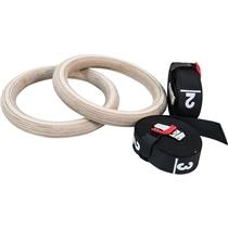 ATX LINE Gym Ring-Set (dřevo)