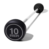 Set rovných bicepsových činek IRONLIFE (10-45 kg)