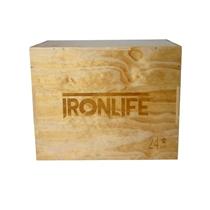 Plyometrická bedna dřevěná IRONLIFE