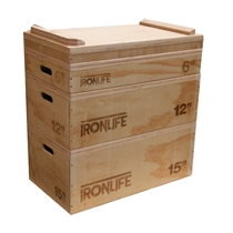 IRONLIFE Wooden Jerk Box
