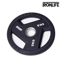 Olympijský urethanový kotouč 5 kg IRONLIFE
