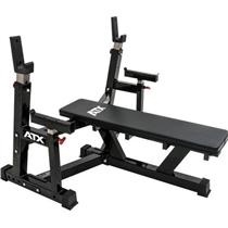 Zesílená lavice benchpress ATX s bezpečnostními zarážkami