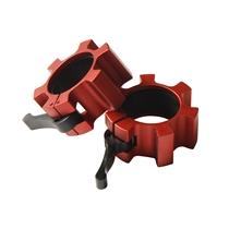 Hliníkový uzávěr IRONLIFE, červený - pár