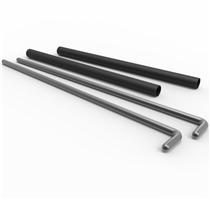 Bezpečnostní zarážky ATX Power rack PIN PIPE 84 cm - pár