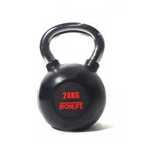 Kettlebell IRONLIFE 24 kg, pogumovaný