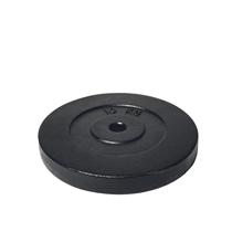 Závaží na činky litinový kotouč ARSENAL 10 kg, otvor 26 mm, ČERNÝ