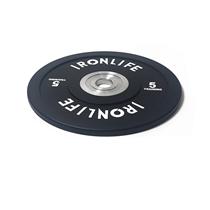 Urethanový kotouč IRONLIFE Bumper Competition 5 kg, černý