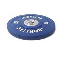 Urethanový kotouč IRONLIFE Bumper Competition 20 kg, modrý
