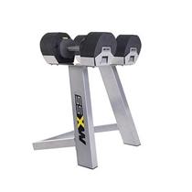 Jednoruční činky set se stojanem MX SELECT 4,5 - 23,8 kg (pár)