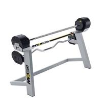 Obouruční bicepsová činka se stojanem MX SELECT váhy 9,8 - 36,4 kg