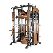 Posilovací stroj BRUTE FORCE Functional Trainer Smith Machine, Leg press, Jammer