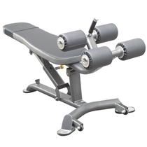 IMPULSE polohovací lavice na břicho a rozpažky s jednoručkami