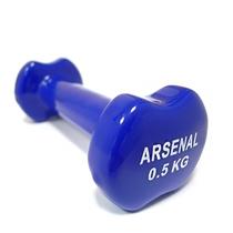 Činka na aerobic ARSENAL 0,5 kg - modrá/vinyl