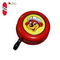 Zvoneček G22 pro koloběžky, odrážedla a kola Puky červený