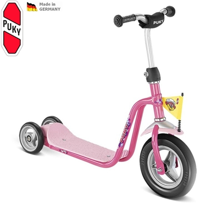 Koloběžka PUKY Scooter R 1 růžová