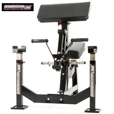 Posilovací lavice na biceps s oporou loktů BB-9056