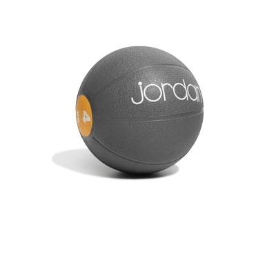 Medicinball JORDAN 4 kg světle oranžový