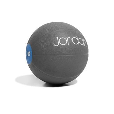 Medicinball JORDAN 9 kg modrý
