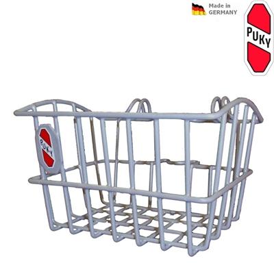 Přední košík na tříkolku PUKY stříbrný