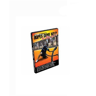 JORDAN FITNESS DVD Wild Black Jack 21 Rope Training DVD