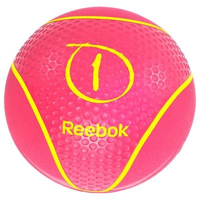 Medicinball REEBOK 1 kg Růžový
