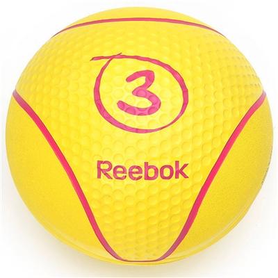 Medicinball REEBOK 3 kg Žlutý