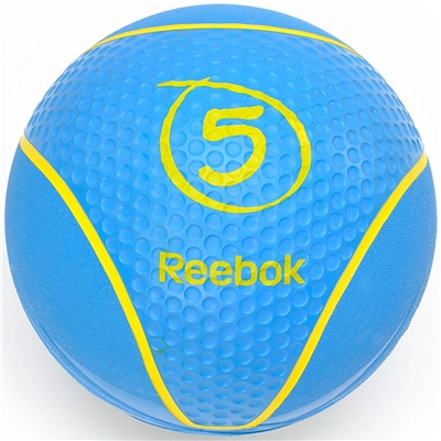 Medicinball REEBOK 5 kg Modrý