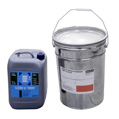 Dvousložkové polyurethanové lepidlo Sportec UN 700 - 28 kg