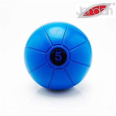 Gumový medicinball JORDAN LOUMET 5 kg tmavě modrý