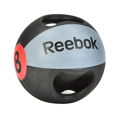 Medicinball dvojitý úchop 8 kg Reebok Professional