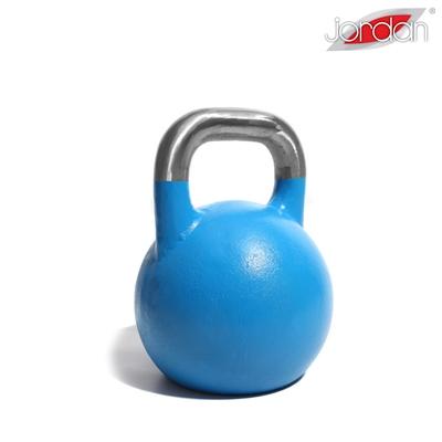 Kettlebell JORDAN Fitness Competition 12 kg modrý