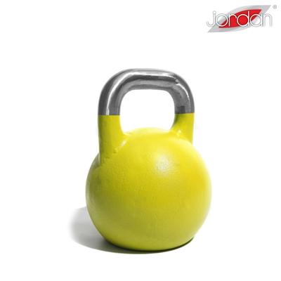 Kettlebell JORDAN Fitness Competition 16 kg žlutý